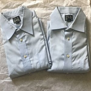2 Jos. A. Bank dress shirts Travelers Collection